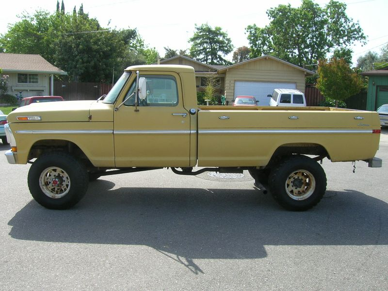 1972 F250 Highboy Custome Yellow
